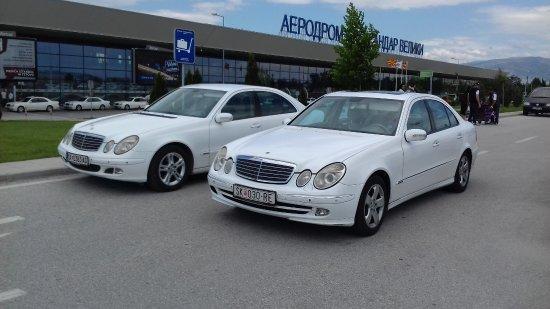 Taxi Skopje Mercedes