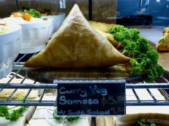 Christchurch Gondola : Curry Veg. Samosa