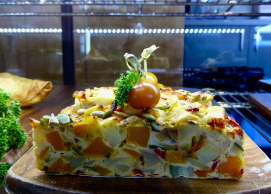 Christchurch Gondola : G.F. Vegetable Frittata