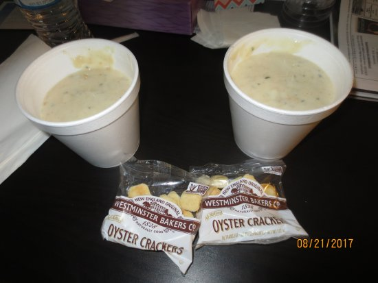 Pacific City, OR: clam chowder