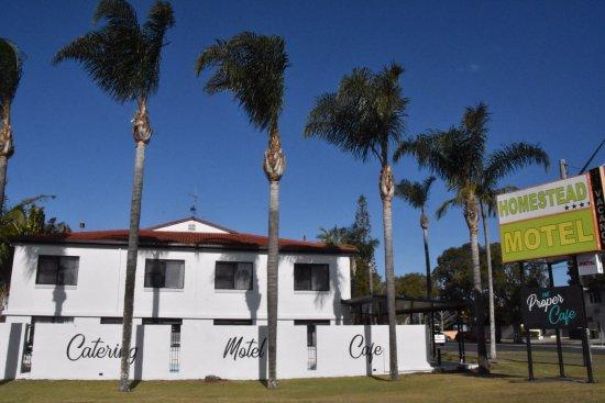 Ballina, Australia: Motel exterior