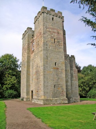 Chathill, UK: Tower as you approach