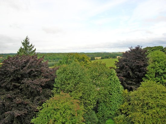 Preston Tower: one of the views from the battlements