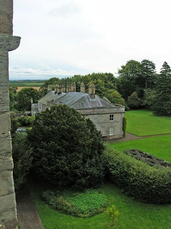 Chathill, UK: View of the estate from the battlements