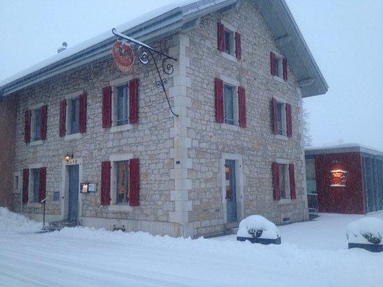 Crassier, Switzerland: neige
