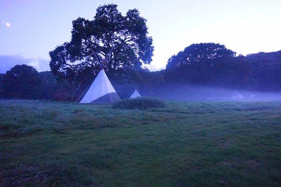 Ross-on-Wye, UK: Evening Mist