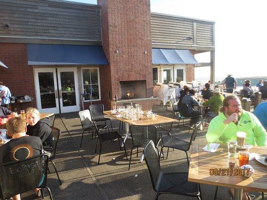 Pacific City, Oregón: patio