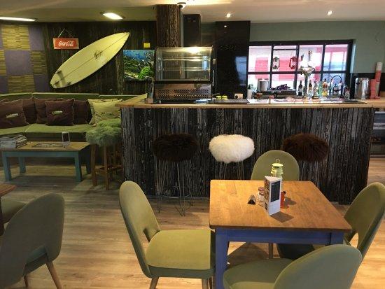 Denbighshire, UK: Tuition Area & Licence Bar