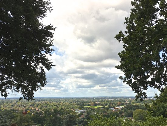 Richmond-upon-Thames, UK: view west