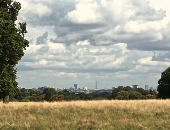 Richmond-upon-Thames, UK: view towards the city