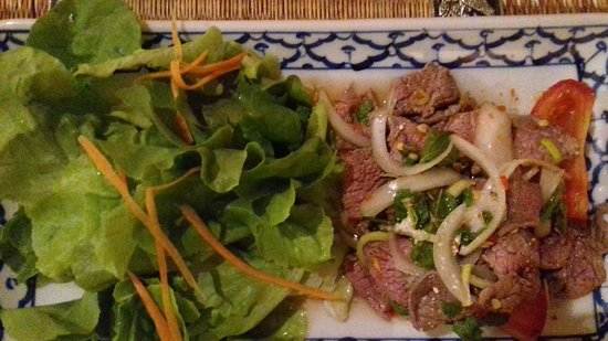 Villeurbanne, France: Salade de boeuf