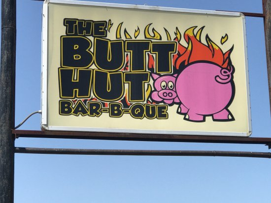 Vidalia, LA: Sign for the Butt Hut