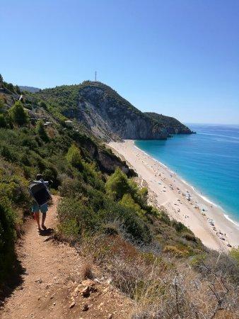 Agios Nikitas, กรีซ: Milos Beach