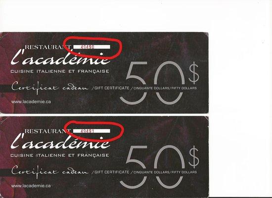 Certificat Cadeau Casino Montreal