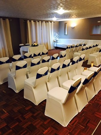 Newton Stewart, UK: Wedding Ceremony Set Up
