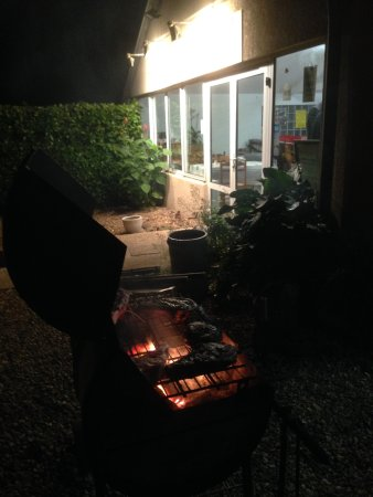 Linieres-Bouton, France: Cote de Boeuf evening - great food !