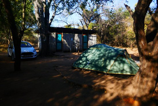 Louis Trichardt, Sudáfrica: campsite and show and toilet