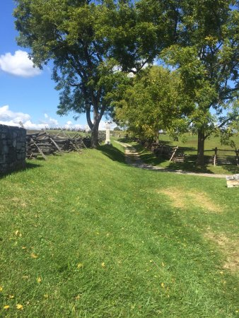 Sharpsburg, MD: portion of sunken road (bloody lane)