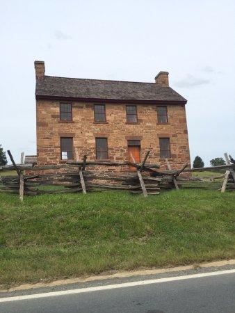 Manassas National Battlefield Park: The Stone House