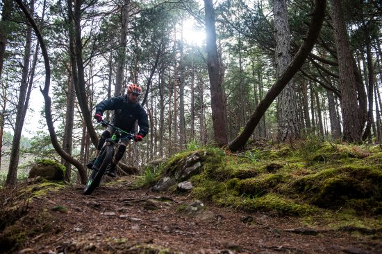 Torridon, UK: Mountain biking