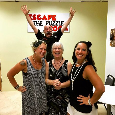 Escape The Puzzle: Escaping the Puzzle, speakeasy style.