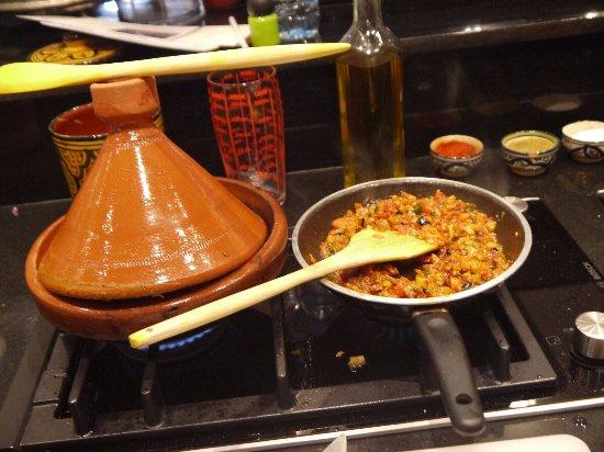 Photo de ateliers de cuisine de la maison for Atelier cuisine marrakech