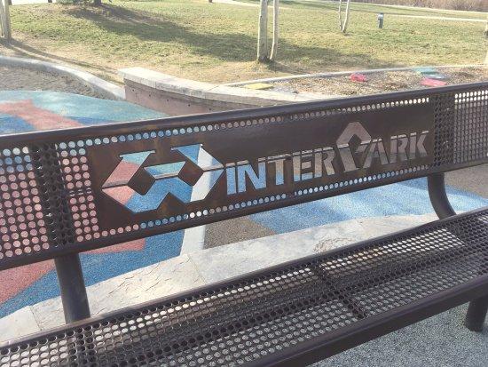 Винтер-Парк, Колорадо: Nice bench