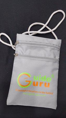 Guide Guru Private Day Tours: Guru pouch
