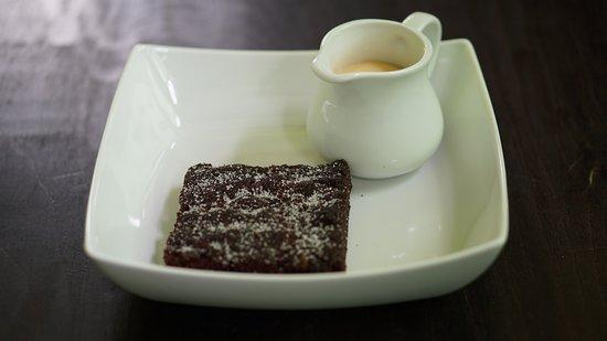 Concrete Cake Custard Picture Of Dell Icious Desserts