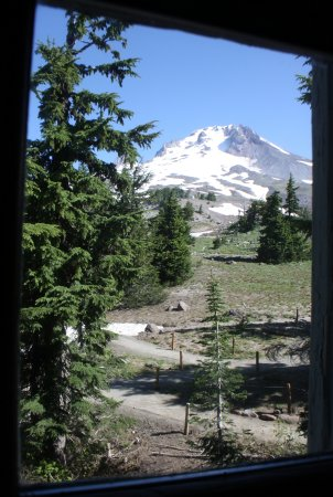 Timberline Lodge, OR: View from Room #217