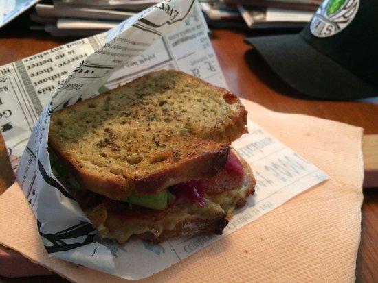 Salo, فنلندا: Delicious sandwich