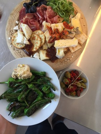Castle Cary, UK: cheese board