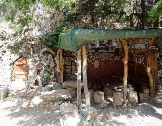 Kreta, Grecja: Maison d'un berger