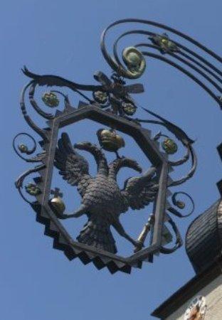 Schonungen, Germany: Wirtshausausleger, geschmiedet ca. 1816