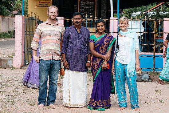 Sreevalsam Inn : The lovely hosts!