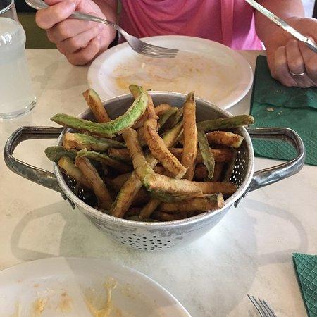 Frittierte Zucchini :-)