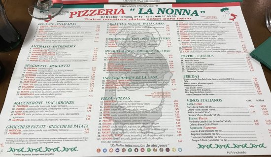 Pizzeria la nonna granada restoran yorumlar tripadvisor - Pizzeria la nonna ...