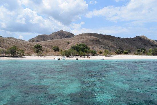 Komodo, Indonésia: Pink Beach