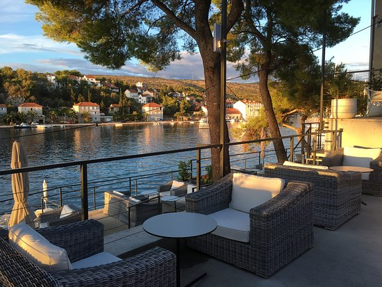 Milna, Croatia: Stunning views from the hotel