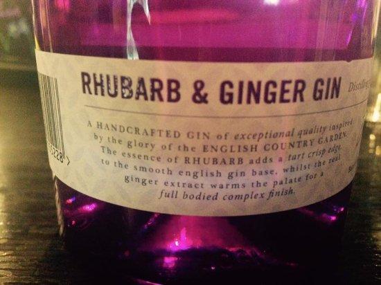 The Royal Oak Inn: Yummy gin