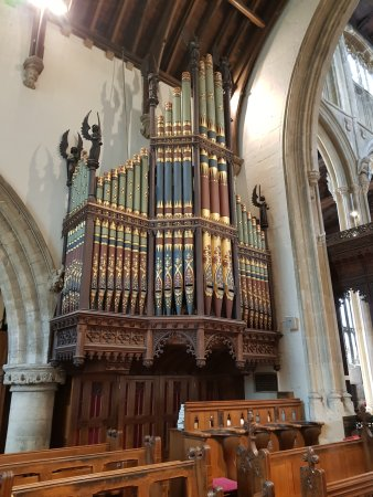Cirencester, UK: The organ