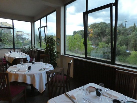 Vicchio, İtalya: Dining room