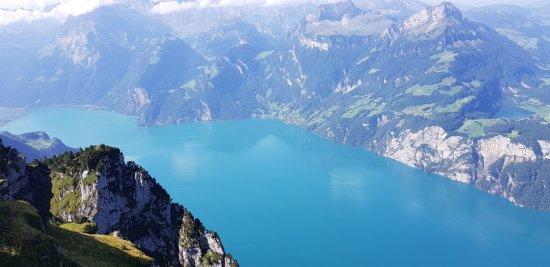 Stoos, Швейцария: Panorama sul Lago dei 4 Cantoni