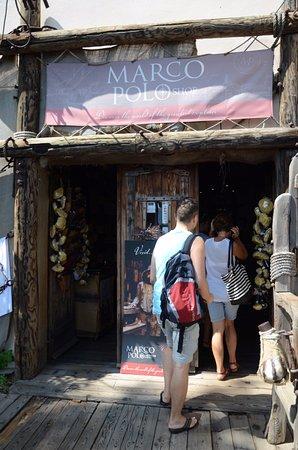 Korcula Island, Kroasia: Marco Polo Shop