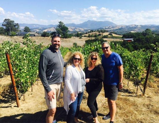Santa Rosa, Califórnia: Cuvee Wine Tours