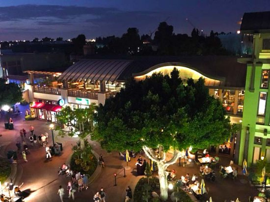 Grand Californian Downtown Disney View From 5th Floor