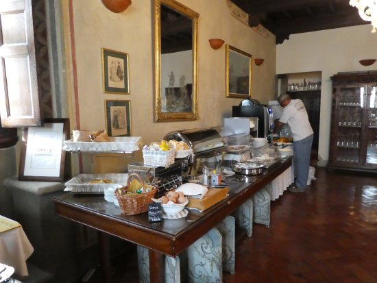 Villa Campestri Olive Oil Resort: Part of bounteous breakfast buffet...
