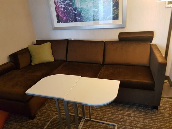 Sofa picture of springhill suites carle place garden city carle place tripadvisor for Springhill suites carle place garden city