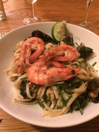 Menheniot, UK: seafood vognole
