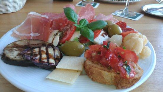 Pleinfeld, ألمانيا: Antipasto Italiano. 10 евро стоимость